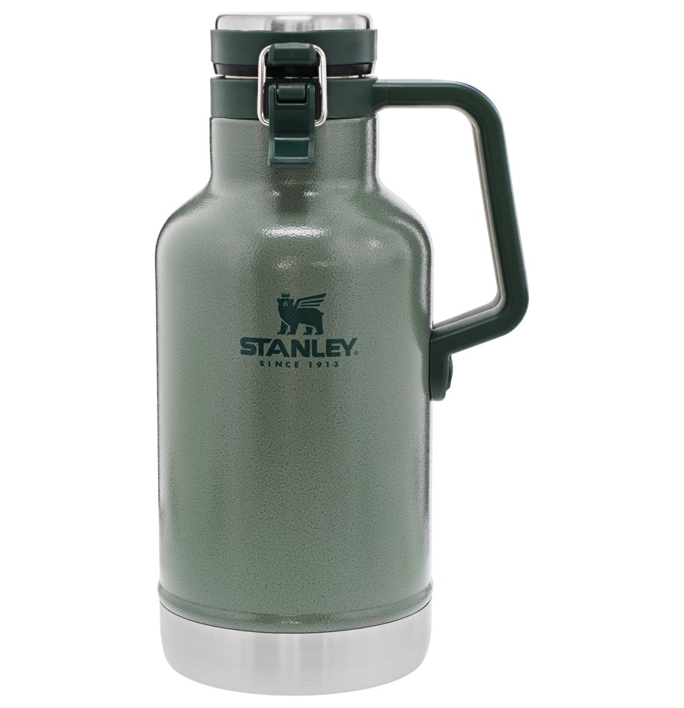 Growler Térmico Stanley Classic Hammertone Green 1,9L