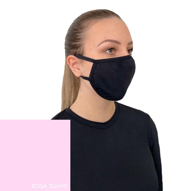 Kit 5 Máscaras Proteção Vitho Confort +50 UV - Rosa Suave