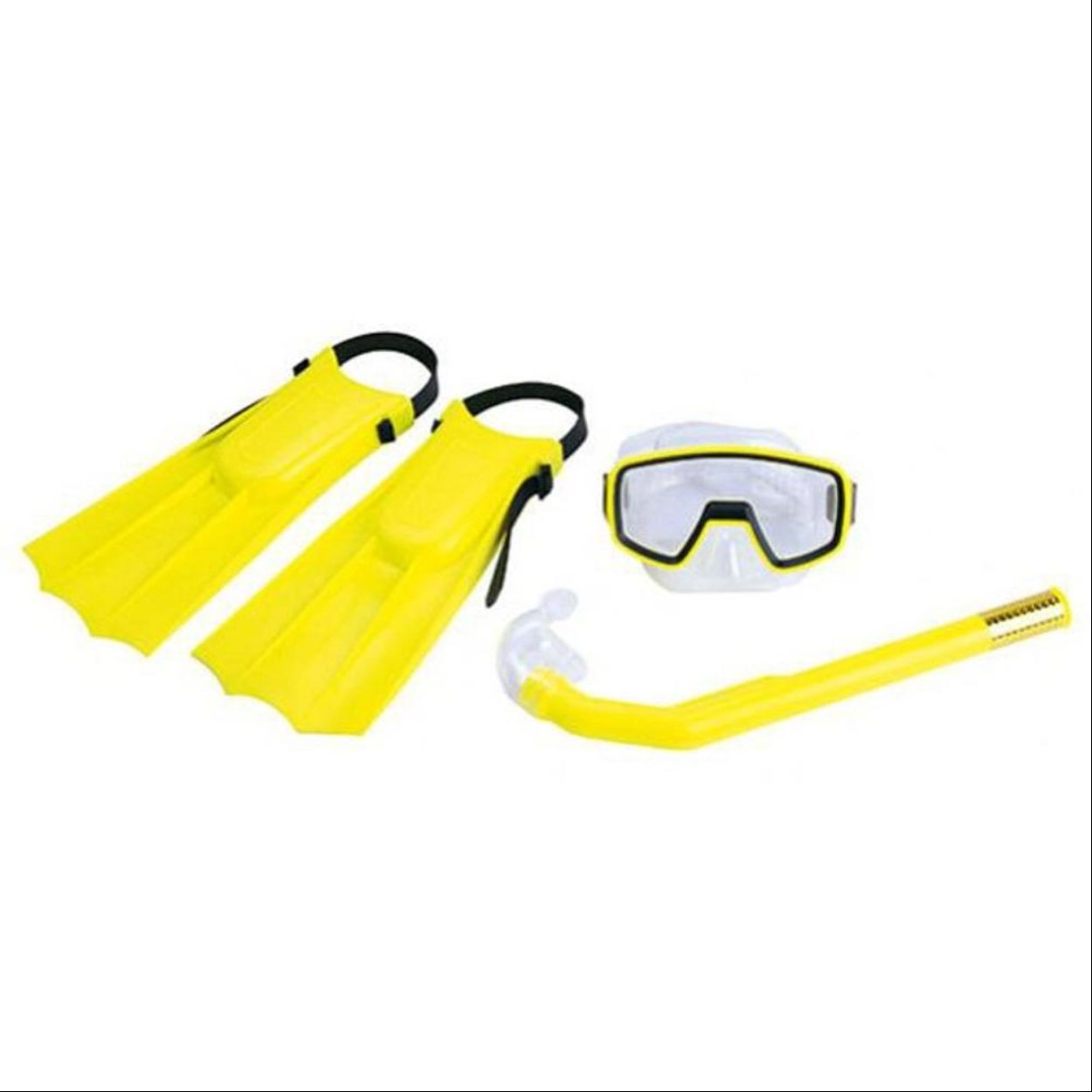 Kit para Mergulho Nautika Pacific Amarelo Infantil