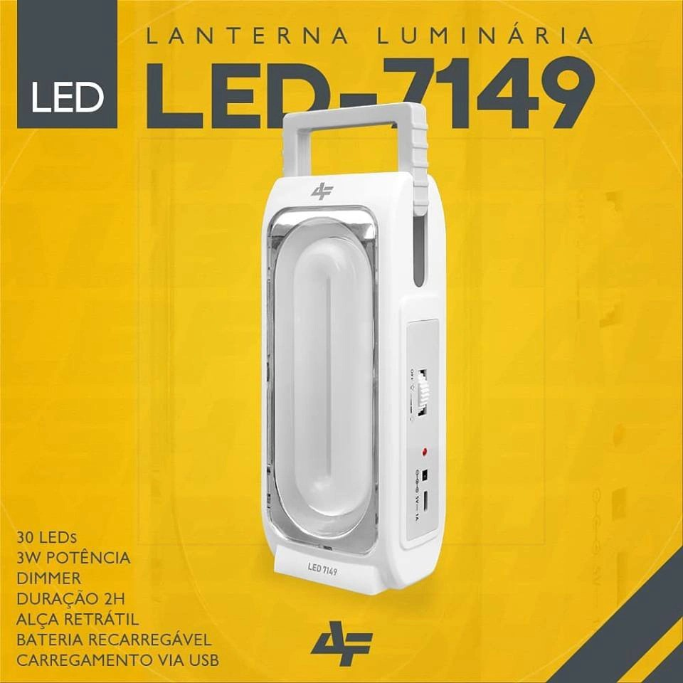 Lanterna Albatroz Fishing LED 7149