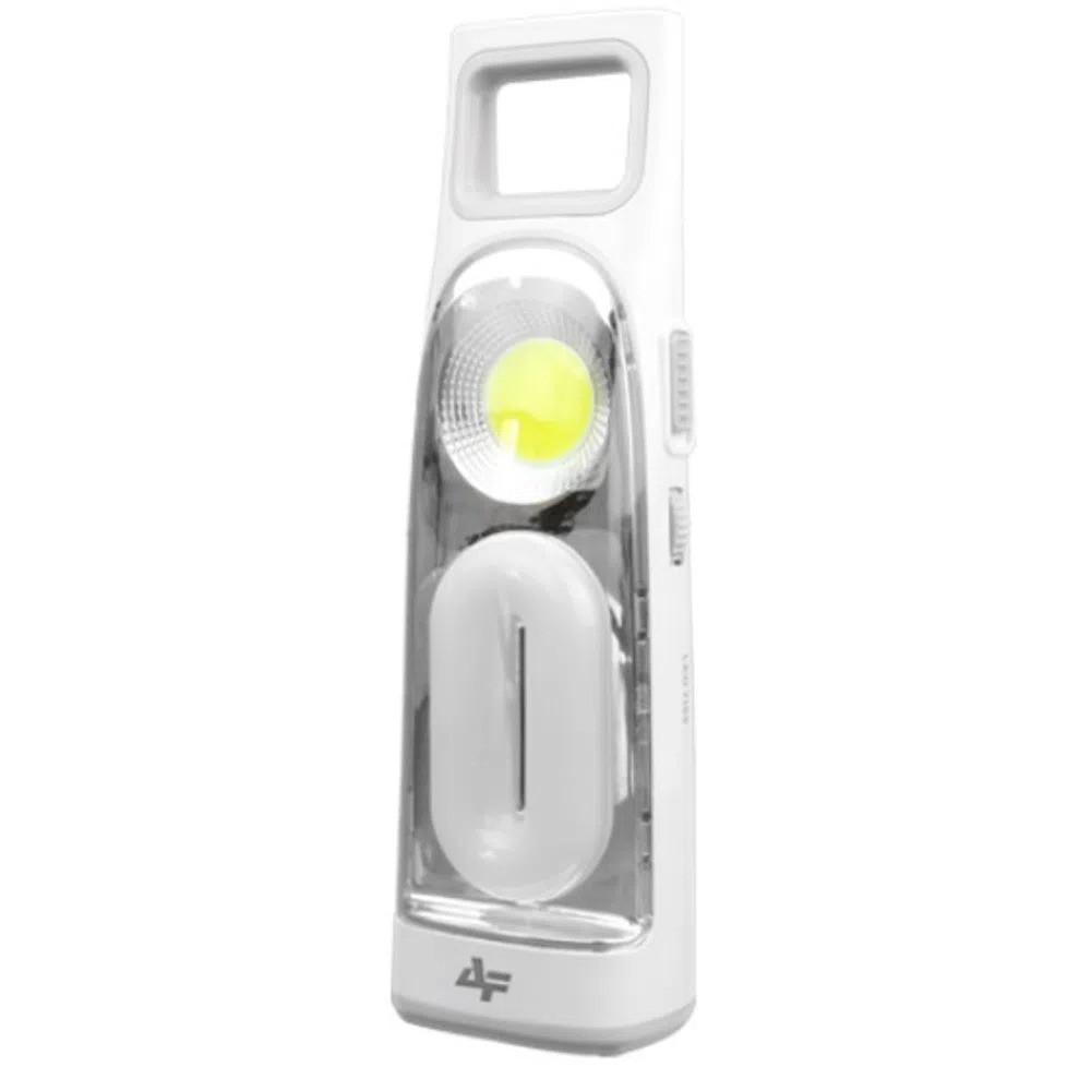 Lanterna Recarregável Albatroz Fishing 7155 16 LED + COB Led