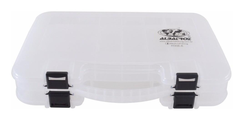 Maleta Plástic Transparente Albatroz Fishing H308A
