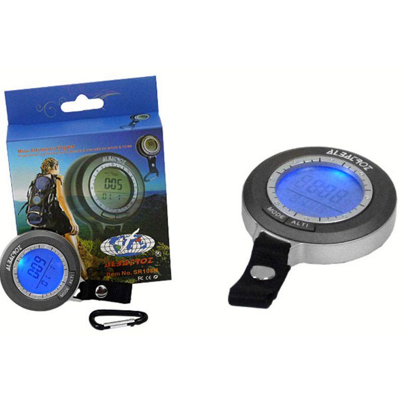 Mini Altímetro Digital Albatroz SR108N
