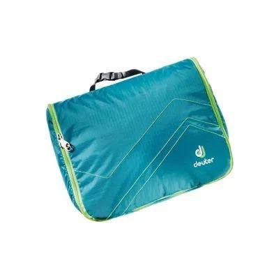 Necessaire Deuter  Wash Center Lite II  C/ Repelência à umidade - Azul/Verde