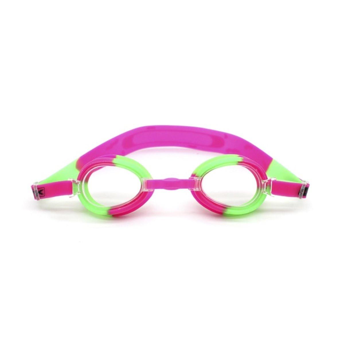 Óculos de Natação Nautika Split Rosa e Verde