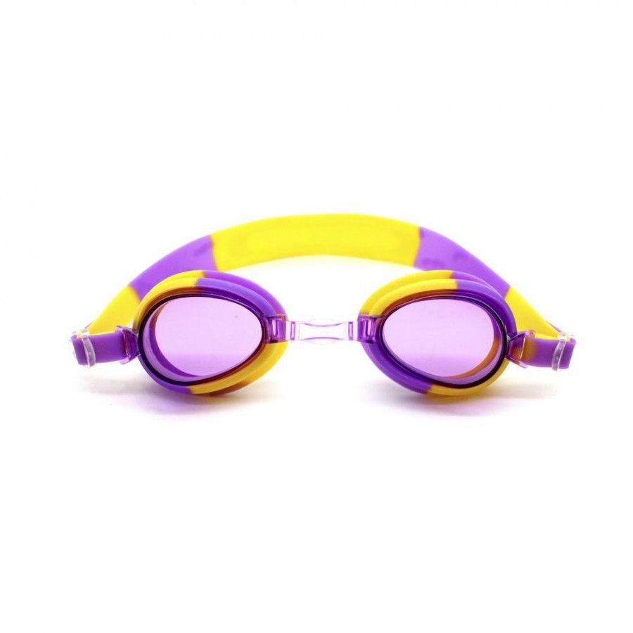 Óculos de Natação Nautika Split Roxo e Amarelo