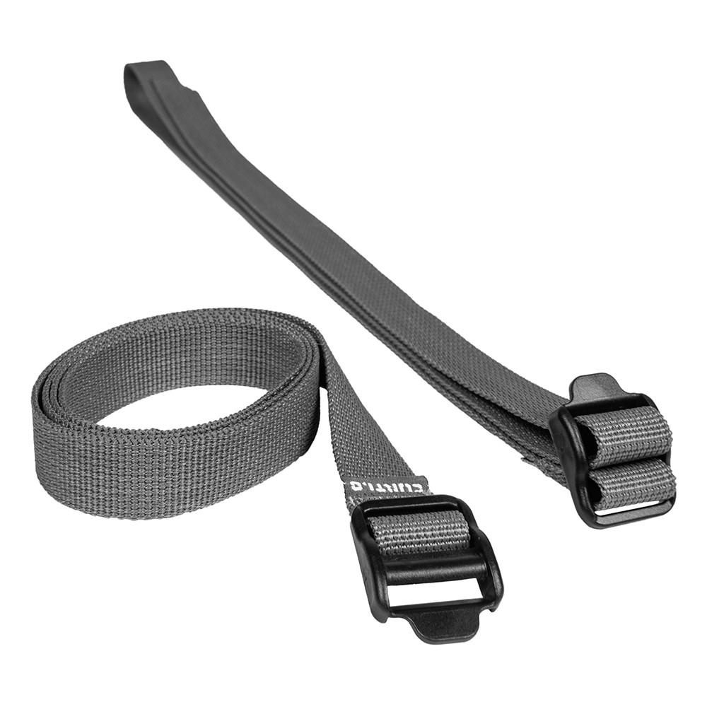 Par de Fitas Strap Curtlo P 20mm - Cinza