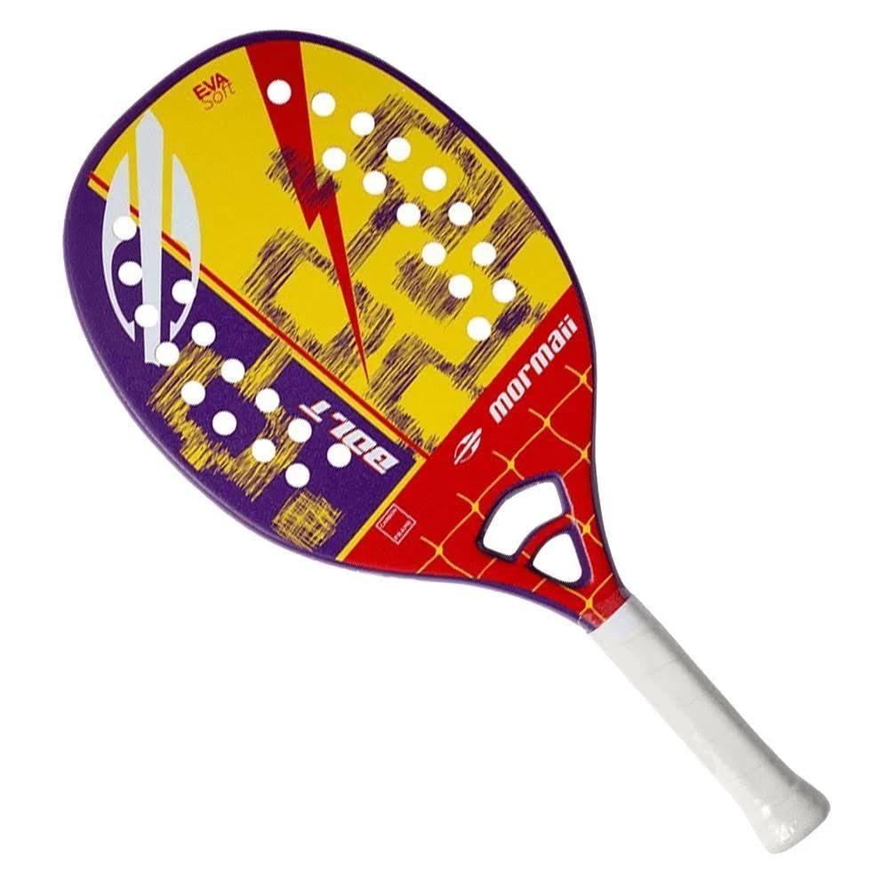 Raquete Beach Tennis Mormaii Bolt EVA Soft