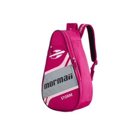 Raqueteira Mormaii Tennis Beach Storm C/ Compartimentos - Rosa