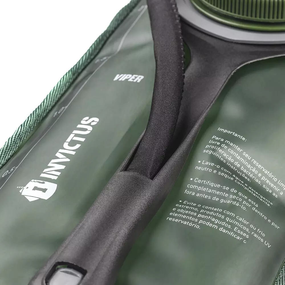 Refil de Hidratação Invictus Viper 2L - Verde Oliva