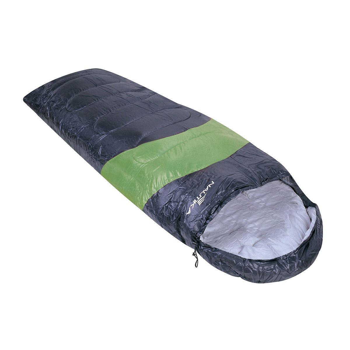 Saco de Dormir Nautika Viper Verde e Preto