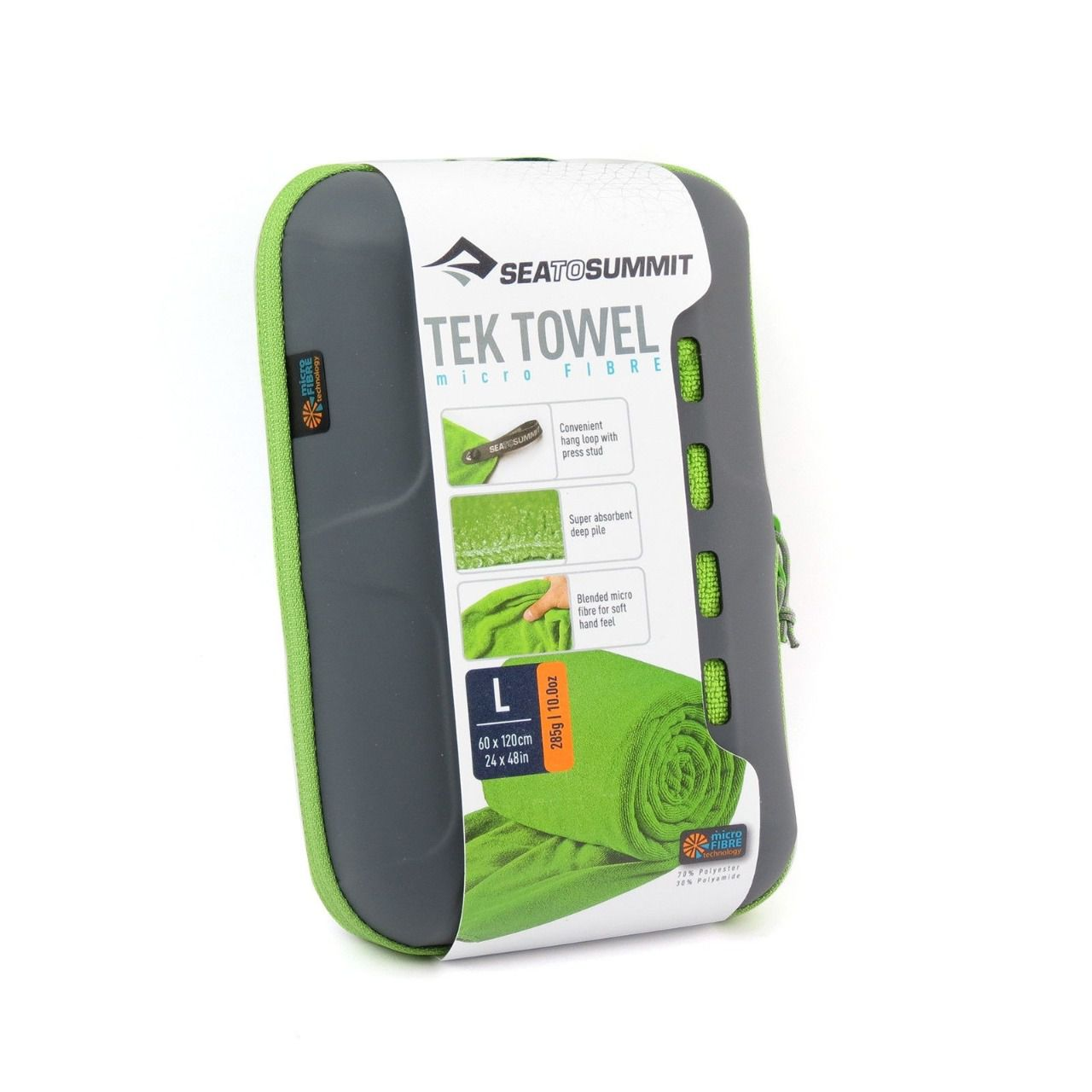 Toalha Sea To Summit Tek Towel Verde Grande