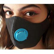 Kit 10 Máscaras DE PROTEÇÃO TNT DUPLA CAMADA COM RESPIRADOR