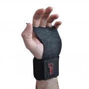 Luva Crossfit Preta 3 dedos