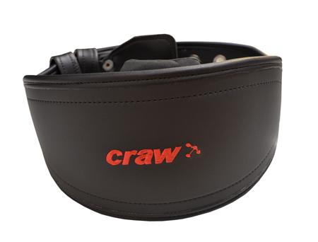 Cinturão Preto de Fivela c/ calço de lombar removivel