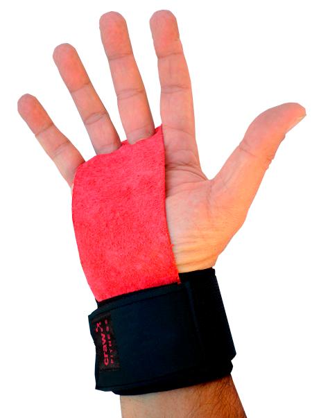 Luva Crossfit PullUP Vermelho