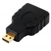 Adaptador Micro HDMI Macho para HDMI Fêmea Chip Sce