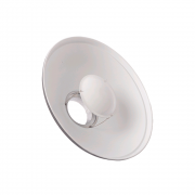 Beauty Dish Rebatedor Fotográfico Branco com difusor para Flash de Estúdio Greika YA5047