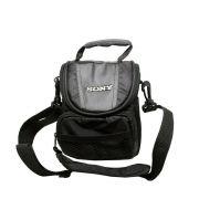 Bolsa Case Preta Bag Logo Sony