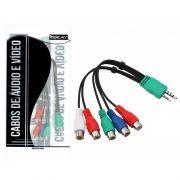Cabo Adaptador AV para TV LED Samsung 20cm Kokay - 018-4419