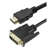 Cabo DVI 24+1 x HDMI para Transmissão de Imagem Digital Chip Sce