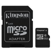 Cartão de Memória Kingston Micro SD Canvas Select Classe 10 U1 HD 80MB/s – SDCS