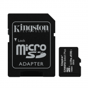 Cartão de Memória Kingston Micro SD Canvas Select Plus 100MB/s com Adaptador?SDCS2