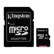 Cartão de Memória Kingston Micro SD Classe 10 45MB/s com Adaptador - SDC10G2