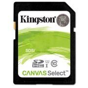 Cartão de Memória Kingston SD Canvas Select Classe 10 U1 HD 80MB/s – SDS
