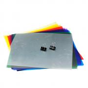 Filtro Colorido Gelatina 11 Cores para Flash Estúdio e Iluminadores de LED Sou Foto FPC-FT11