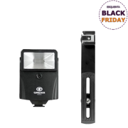 Flash Digital Slave CF18 Greika com Fotocélula para Câmeras e Estúdios Fotográficos