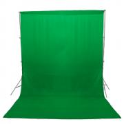 Fundo Chroma Key Verde em Tecido Oxford para Estúdio Fotográfico