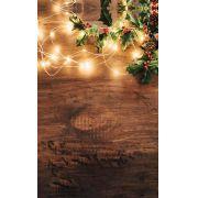 Fundo Infinito Fotográfico Temático em Tecido Lavável Dry-fit - Tema Natal 15