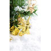 Fundo Infinito Fotográfico Temático em Tecido Lavável Dry-fit - Tema Natal 25