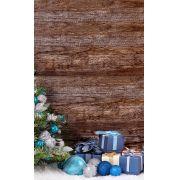 Fundo Infinito Fotográfico Temático em Tecido Lavável Dry-fit - Tema Natal 26
