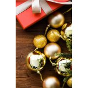 Fundo Infinito Fotográfico Temático em Tecido Lavável Dry-fit - Tema Natal 37