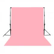 Fundo Infinito Profissional em Papel de Alta Densidade Greika - Pastel Pink 117