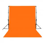 Fundo Infinito Profissional em Papel de Alta Densidade Greika - Tangerine 152
