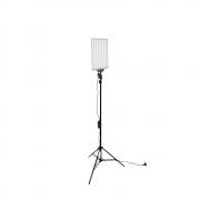 Iluminador de LED 530C 30W com Tripé de 2m para Fotografia e Filmagem