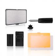 Iluminador de LED para Fotos e Vídeos Greika TL-180