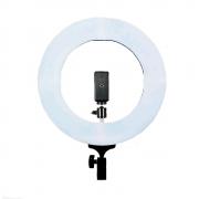 Iluminador de LED Ring Light 12 60W com 35cm Diâmetro para Foto e Vídeo (sem tripé)