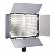 Iluminador de LED Greika TL-600A com Controle e Bateria + Carregador