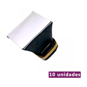 Lote com 10 unidades de Mini Softbox Difusor para Flash Speedlite Sou Foto MSF-001
