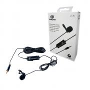 Microfone de Lapela para Celular, Câmeras DSLR e Filmadoras Greika GK-LM1