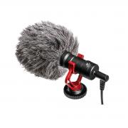Microfone para Celular e Câmera Cardioide Greika FO-VM01/GK-VM01