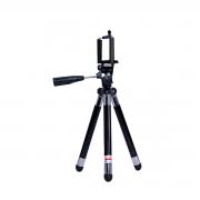 Mini Tripé com Suporte de Celular 42cm para Foto e Vídeo