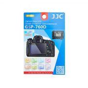 Protetor de Tela Película de Vidro JJC GSP-760D para Câmeras Canon EOS