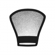 Rebatedor Refletor Leque 2x1 para Flash Speedlite Sou Foto RSL-001