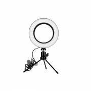 Ring Fill Light de Mesa 16cm Luz de Led para Foto e Vídeo