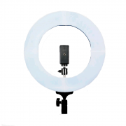 Ring Light 60W LED com 35cm Diâmetro para Iluminação de Foto e Vídeo (sem tripé)
